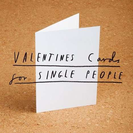 Solitary Valentine's Cards - Mr. Bingo's 'Valentines Card' is a Treats a Single on Valentine's Day