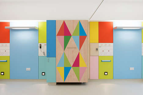 Artistically Patterned Children's Hospitals - This Hospital's Design Aims to Raise Kids' Spirits