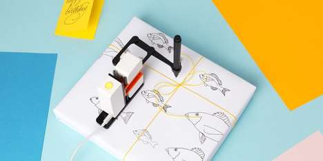 Robotic Drawing Arms - 'Line-us' Can Mimic Sketchers' Drawings in Real Time, from Anywhere