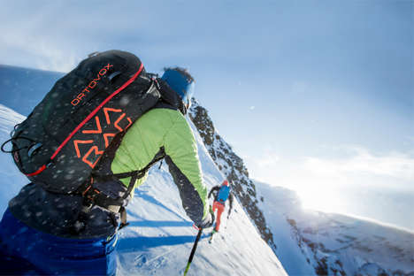 Avalanche Survival Airbags - The Ortovox Avabag can Save Hikers' Lives During Avalanches