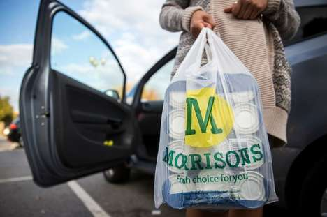 In-Store Student Discounts - Morrisons Now Offers Students a Discount on Their Groceries