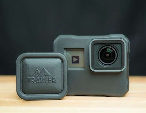 Secure Action Cam Cases - The 'Artemis' Rugged Case for GoPro Protects from Drops and Damage