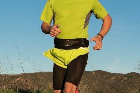 Ergonomic Running Belts - The Naked Running Band Packs Three-Liters of Storage onto Your Waist