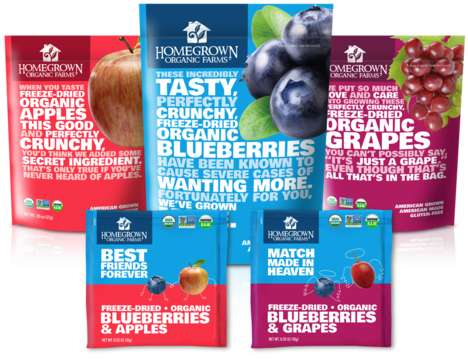 Freeze-Dried Fruit - Homegrown Organic Farms' Products are Convenient, Healthy and Full of Flavor