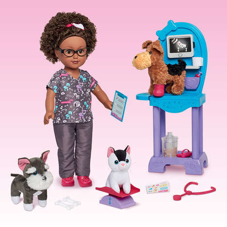 Profession-Focused Doll Collections - 'My Life As Dolls' Products Are Focused on Their Careers
