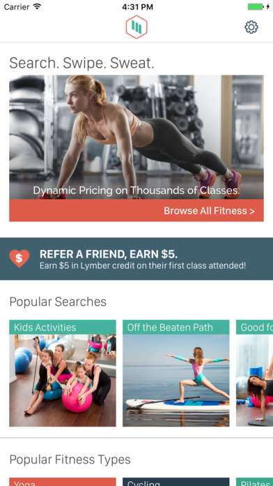 Pay-as-You-Go Fitness Apps - 'Lymber' Helps People Sweat at a Fair Price Without Memberships
