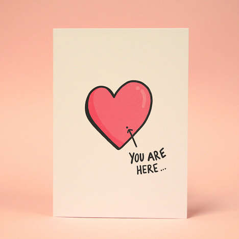 Unrequited Love Valentine's Cards - These Funny Valentine's Day Cards Have Cynical Messages Inside