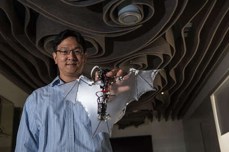 Flying Robotic Bats - Researcher at Caltech and the University of Illinois Developed the 'Bat Bot'