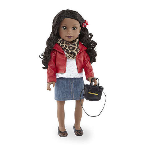 "Traveling Doll Brands - Journey Girls' Dolls are Marketed as ""Best Friends"" Who Travel Together"
