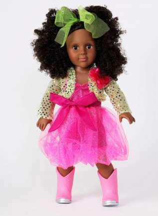 Child-Matching Dolls - Dollie & Me Offers Large Dolls With a Variety of Clothing Options