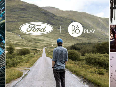 Immersive Automotive Sound Systems - Ford and HARMAN's B&O PLAY System will Be in all Ford Vehicles