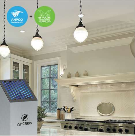 Countertop Air Purifiers - The Air Oasis 3000 G3 Eliminates Household Odors and Contaminants