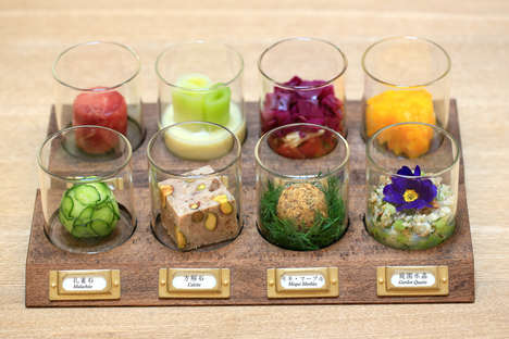 Geological Food Shops - The Usaginonedoko Cafe Creates Food Inspired by Rocks and Minerals