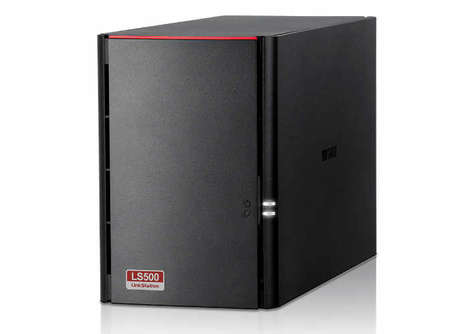 Content-Streaming Storage Systems - The Buffalo LinkStation 520DN NAS Storage System is Expansive