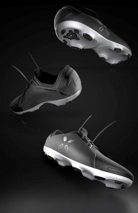 Connected Athletic Footwear - The Connected Cleat Shoe Has Sensors on the Sole