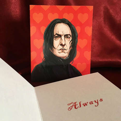 Nerdy Valentine's Day Cards - Artist PJ McQuades' Humorous Cards Appeal to Star Wards Fans and More