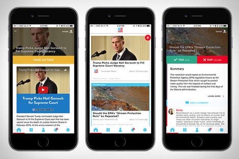 Non-Partisan News Apps - The 'Countable' Social News App Offers Unbiased Summaries