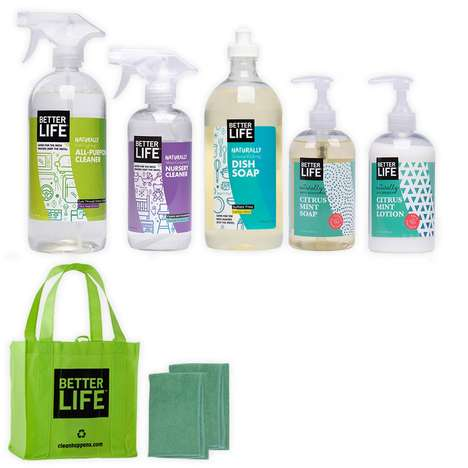 Cleansing Infant Care Kits - This Better Life's Baby Essentials Kit Has Natural Sanitation Products