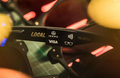 Contactless Payment Sunglasses - The 'WaveShades' Festival Sunglasses Can Be Tapped on POS Terminals