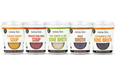 Drinkable Broth Soup Packaging - The Nona Lim's Heat & Sip Soup Cups are Quick to Heat and Eat