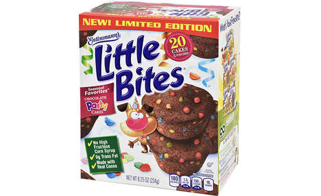 Corn Syrup-Free Cakes - The Entenmann's Little Bites Chocolate Party Cakes are Made with Real Cocoa