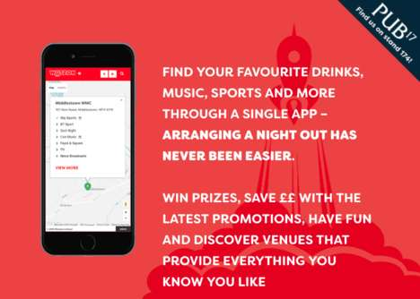 Pub-Finding Apps - The 'Wotzon' App Has the Potential to Revitalize the Pub Industry