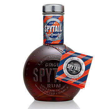 Naval Rum Bottles - The 19th Century Recipe Used for 'Spytail' Celebrates Deep-Sea Explorers