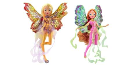 Fairy Fashion Dolls - The Newest World of Winx Dolls Have Holographic Wings and Dresses
