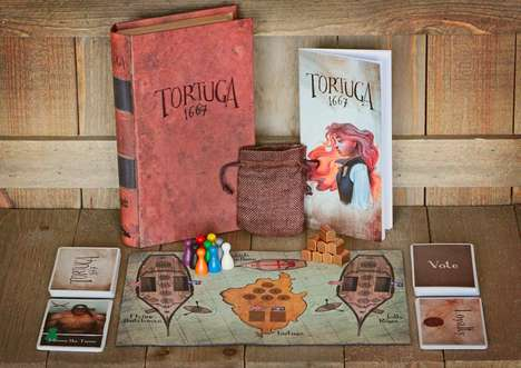 Pirate Lifestyle Games - The Tortuga 1667 Pirate Game of Mutiny, Plunder & Deceit is Adventurous