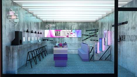Virtual Reality Nail Salons - WAH London's New Flagship Incorporates Tech into Its Business Model