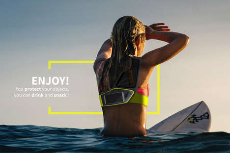 Ergonomic Surfing Bags - This Smart Surf Bag Sits Comfortably Across the Body