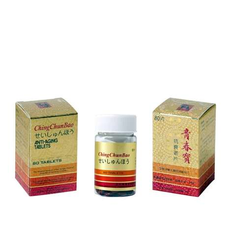 Herbal Anti-Aging Tablets - Ching Chun Bao's Supplements Provide Support for Overall Health