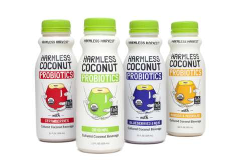 Probiotic Coconut Water - Harmless Harvest's Flavorful Drinks Support Support Digestive Health