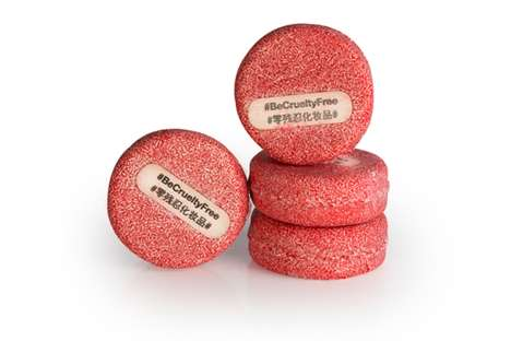 Cruelty-Free Shampoo Bars - Lush's Solid Shampoo Bars Carry Messages Against Animal Testing