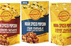 Spiced Indian Popcorn Snacks