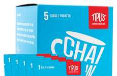 Instant Latte Packets - Tipu's Chai Offers Individually Packaged Indian Chai That Only Needs Water