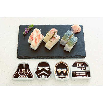 Science Fiction Sauce Dishes - Rowen Japan Has Created Licensed Star Wars Soy Sauce Dishes