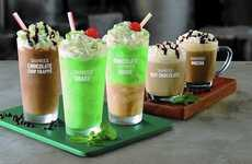 Novel Irish Holiday Milkshakes