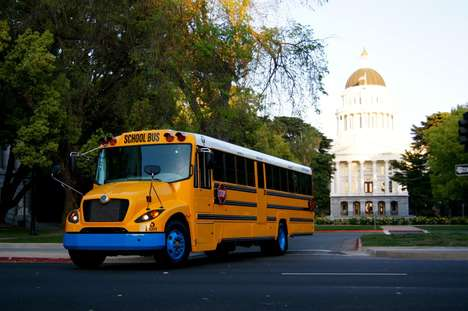 Zero-Emissions School Buses - The 'eLion' Electric School Bus Eliminates Diesel Emissions