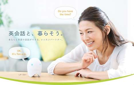 Linguistic Tutor Bots - Casio's 'Lesson Pod' Robot Improves One's Grasp of the English Language