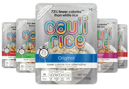 Ready-Made Cauliflower Rice - FullGreen Makes 100% Cauliflower Rice Pouches as a Grain Alternative