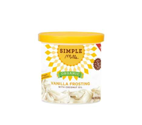 Organic Coconut Frostings - Simple Mills' Healthy Dessert Frosting is Enriched with Coconut Oil