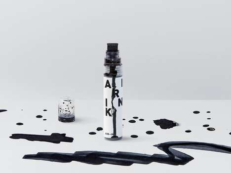 Recycled Air Pollutant Ink - 'Air Ink' Fills Its Cartridges with Exhaust from Vehicles