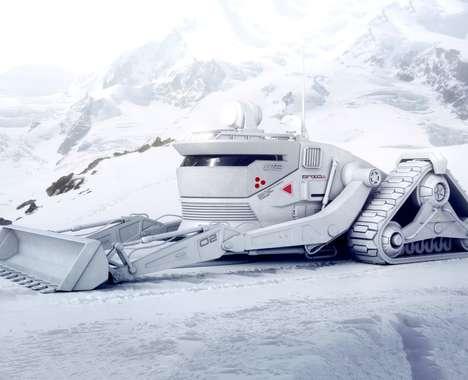 Terrain-Conquering Snow Vehicles