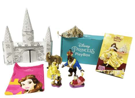 Princess Toy Subscriptions - PleyBox's Subscription Service for Kids Has Official Disney Items