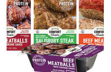 """Standalone Meat Snacks - The Great American Comfort Classics Line Comes in a """"Heat and Eat"""" Format"""