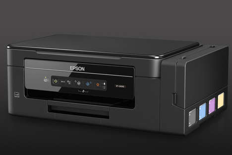Cartridge-Free Eco Printers - The Epson ET-2600 and ET-2650 EcoTank Ink Printers are Efficient