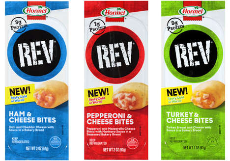Portable Meat Bites - Hormel is Expanding Its REV Brand with Meat and Cheese Bites