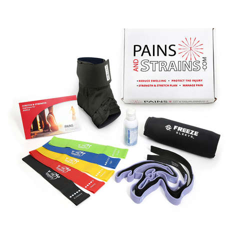 At-Home Pain Relief Kits - 'Pains & Strains' Offers Physician-Level Instructional Injury Care Kits