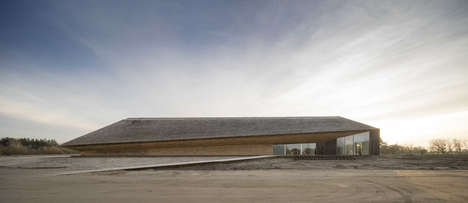 Subtle Sea Stations - The Wadden Sea Center is Designed to Blend in to Its Surroundings